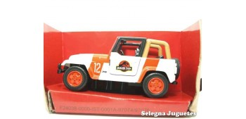 miniature car Jeep Wrangler escala aprox. 1/43 Jada Jurassic