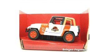 Jeep Wrangler escala aprox. 1/43 Jada Jurassic World