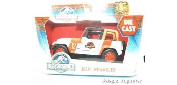 coche miniatura Jeep Wrangler scale aprox. 1/43 Jada Jurassic