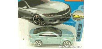 Bmw M4 escala 1/64 Hot wheels coche miniatura escala