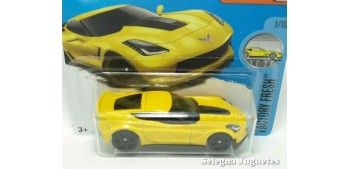 Chevrolet Corvette C7 Z06 escala 1/64 Hot wheels coche miniatura escala
