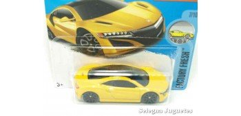 Honda Acura NSX 17 escala 1/64 Hot wheels coche miniatura escala