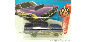 Dodge Dart 68 escala 1/64 Hot wheels coche miniatura escala
