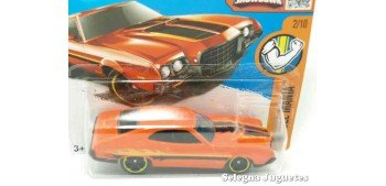 Ford Gran Torino Sport 72 escala 1/64 Hot wheels coche miniatura escala