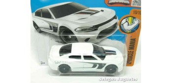 Dodge Charger SRT 15 escala 1/64 Hot wheels coche miniatura escala