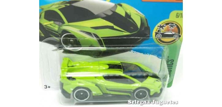 Lamborghini Veneno escala 1/64 Hot wheels coche miniatura escala