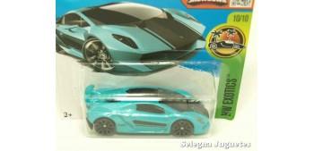 Lamborghini sesto elemento escala 1/64 Hot wheels coche miniatura escala