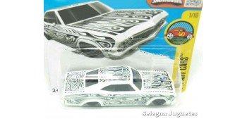 Chevy Impala 65 escala 1/64 Hot wheels coche miniatura escala