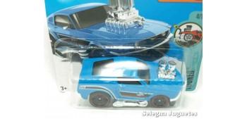 coche miniatura Ford Mustang 68 escala 1/64 Hot wheels coche