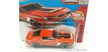 Shelby Gt500 68 escala 1/64 Hot wheels coche miniatura escala