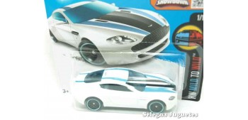 Aston Martin V8 Vantage escala 1/64 Hot wheels coche miniatura escala
