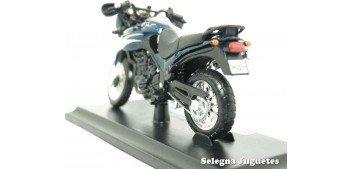 moto miniatura Triumph Tiger (sin caja) escala 1/18 Maisto moto