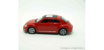 Volkswagen The Beetle escala 1/60 Welly coche metal miniatura