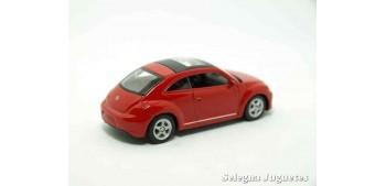 Volkswagen The Beetle escala 1/60 Welly coche metal miniatura