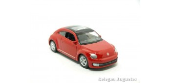 coche miniatura Volkswagen The Beetle escala 1/60 Welly coche