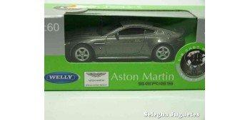 Aston Martin V12 Vantage escala 1/60 Welly coche metal miniatura