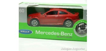 Mercedes Benz C 6S AMG escala 1/60 Welly coche metal miniatura