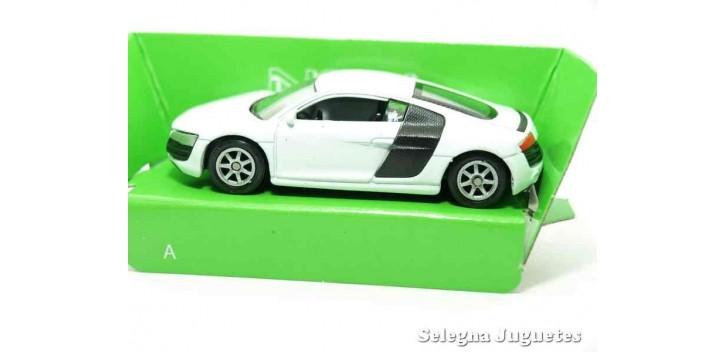 Audi R8 V10 escala 1/60 Welly coche metal miniatura