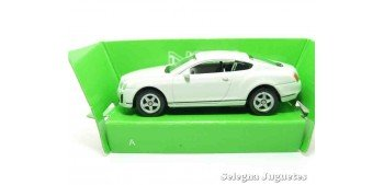 Bentley Continental Supersports escala 1/60 Welly coche metal miniatura