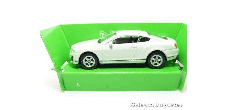 Bentley Continental Supersports escala 1/60 Welly coche metal miniatura