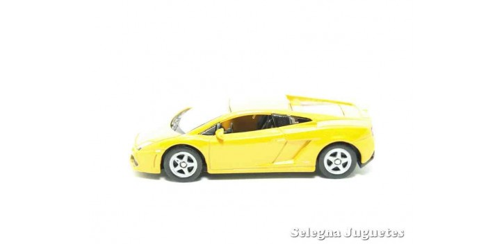 Lamborghini Gallardo LP660-4 escala 1/60 Welly coche metal miniatura