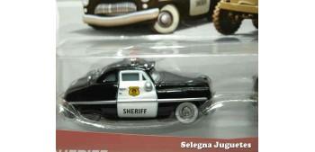 coche miniatura Pelicula Cars Modelos Sheriff - Sarge