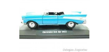 Chevrolet Bel Air 1957 (vitrina) escala 1/34 a 1/39 Welly Coche