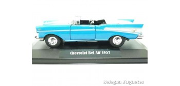 Chevrolet Bel Air 1957 (showbox) scale 1/34 a 1/39 Welly Coche metal miniatura