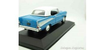 Chevrolet Bel Air 1957 (vitrina) escala 1/34 a 1/39 Welly Coche metal miniatura