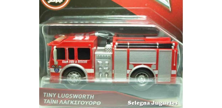 Pelicula Cars 3 Tiny Lugsworth