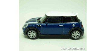 Mini cooper S (azul) escala 1/43 Welly Welly