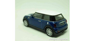 Mini cooper S (azul) escala 1/43 Welly