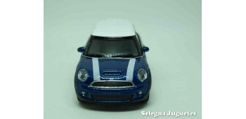 Mini cooper S (azul) escala 1/43 Welly