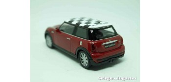 Mini cooper S (rojo) escala 1/43 Welly