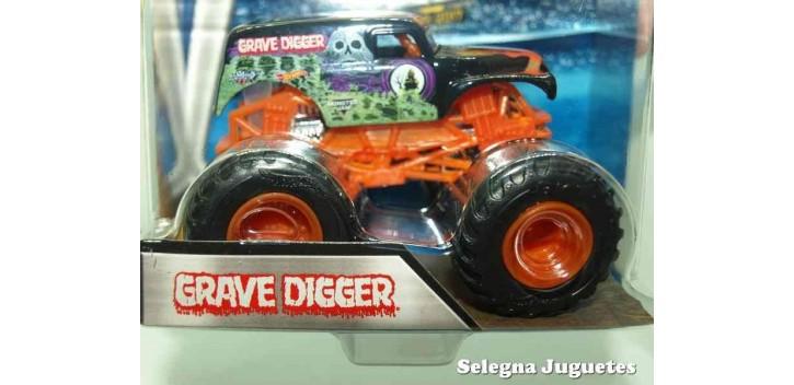 Escala Wheels A Digger Hot Grave Coche Monster Jam UzGqSMVp