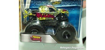 Monster Jam Team Firestorm escala 1/64 Hot wheels