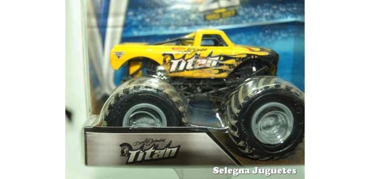 Monster Jam Titan escala 1/64 Hot wheels