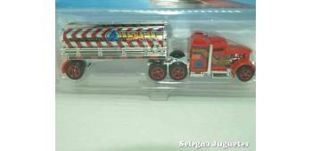 camion miniatura Fuel & Fire escala 1/64 Hot wheels camión