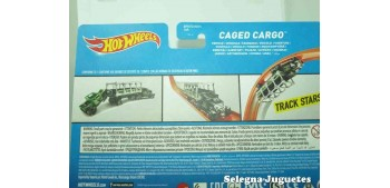 camion miniatura Caged Cargo escala 1/64 Hot wheels camión
