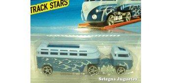 Custom Volkswagen Hauler escala 1/64 Hot wheels camión escala