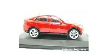 coche miniatura Bmw X6 rojo (vitrina) 1/43 Rastar