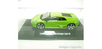 Lamborghini Murcielago Lp640 (vitrina) escala 1/43 Burago Coche metal miniatura sin caja Bburago