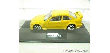 Bmw M3 escala (vitrina) 1/43 Burago Coche metal miniatura sin