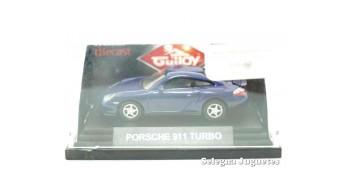 coche miniatura Porsche Carrera 4 escala 1/72 Guiloy