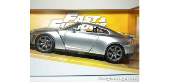 miniature car Brian 's Nissan GT-R (R35) Silver Fast & Furious