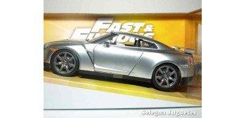 Brian 's Nissan GT-R (R35) Silver Fast & Furious escala 1/24 Jada