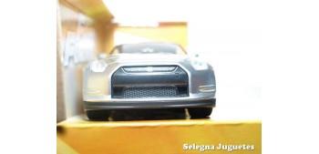 Brian 's Nissan GT-R (R35) gris Fast & Furious escala 1/24 Jada coche miniatura