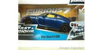 Brian 's Nissan GT-R (R35) Fast & Furious escala 1/24 Jada