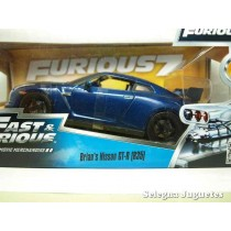 <p><strong>Brian 's Nissan GT-R (R35)</strong></p> <p><strong>Jada</strong></p> <p><strong>1/24 - 1:24</strong></p>