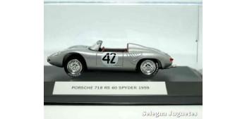 coche miniatura Porsche 718 RS 60 Sypder 1959 (vitrtina) 1/43